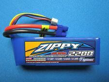 ZIPPY 2200mAh 3S 11.1V 40C 50C LIPO BATTERY EC3 BLADE 400 450 X 3D QX 350 LOSI