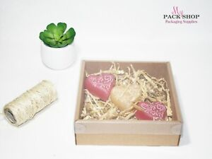 10 Clear Lid Presentation Box Transparent Display Gift Boxes For Soap Candles