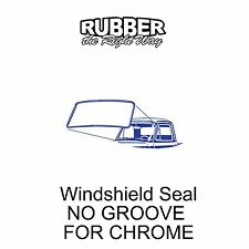 1961 1962 1963 1964 1965 1966 Ford Truck Windshield Seal - NO GROOVE FOR CHROME