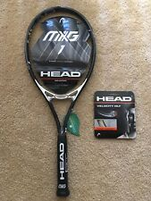 """New Head MXG 1 98 Sq In (300g or 10.6oz) Demo Tennis Racquet 4 3/8"""" Grip"""