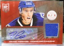 2013-14 Panini Totally Certified Frank Corrado SP Red Autograph Jersey RC # 1/50