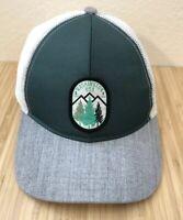Washington State Hat Cap Adjustable Snapback Mesh Patch PNE Green Gray