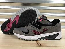 Saucony Grid 8000 CL Running Shoes Premium Grey Charcoal Pink SZ 6 ( S70197-4 )