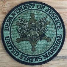 US Marshals Service - SEAL patch - OD version - Genuine *Kokopelli Patch*