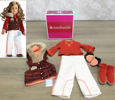 American Girl Doll Clothes NICKI SKI WEAR OUTFIT Boots Gloves Shoes Ticket BOX +