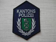 Swiss Police Patch Police Cantonale St.Gallen Kantons Polizei Switzerland