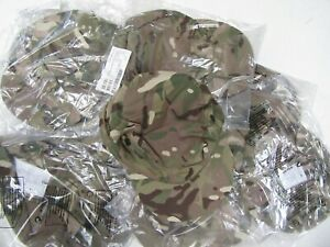 UK MOD MTP camo 'crap hat'  field cap.  Good sizes, new.  job lot   x 10 pieces.
