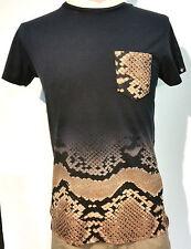 TwoAngle Snake Pocket T-Shirt Farbe Schwarz Größe S