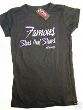 Nwt Juniors Medium Famous Stars And Straps Logo 1999 Fitted Graphic Tee Shirt M