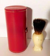 Kent Red Travel Case + P12 Shaving Brush