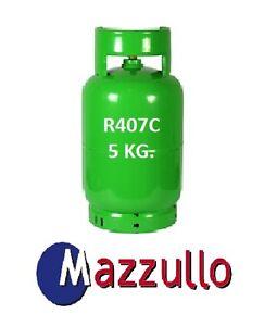 Gas Refrigerante R407C Cilindro De 5 KG