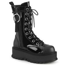 "DEMONIA Slacker-220 2"" PF Closed Toe Mid-Calf Boot"