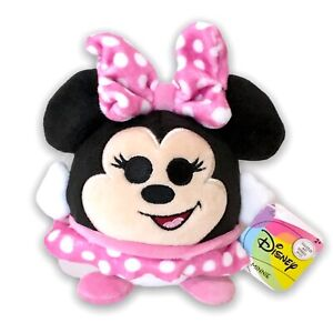 Disney Just Play Squeeze Me Plush Minnie Mouse Anxiety Fidget Sensory Toy NWT