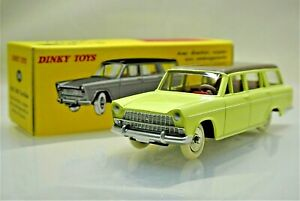 MINT Repro Dinky 548 Fiat 1800 Familiale Yellow Brown by Norev DeAgostini Atlas