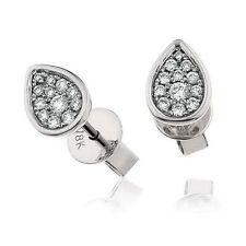18 Carat Drop/Dangle White Gold SI1 Fine Diamond Earrings