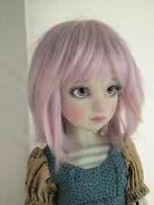 Monique BETH Wig Light Purple Size 7-8 MSD BJD shown on Luna by Liz Frost