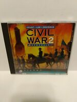 Civil War Generals 2 game for PC - Sierra - 1997