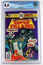 Secret Society of Super Villains #1 CGC 8.0 WP