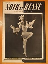 NOIR et BLANC N° 159 du 25/02/1948-20 pigeons s'aimaient d'amour tendre et une