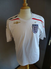MAILLOT FOOTBALL UMBRO ANGLETERRE ENGLAND 2007-2009 T.L