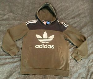 Women's Adidas Hoodie Hooded Top, Size Small Green Black