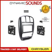CT23CH04 Double Din Panneau Façade Fixation Kit pour Chrysler Voyager 2001-07