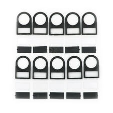 10pcs Push button Switch Panel Label Frame Mounting Size 22mm ^P