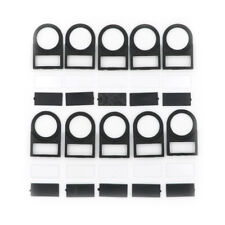 10pcs Push button Switch Panel Label Frame Mounting Size 22mm PPPT