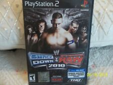 👀  PS2 ...👀 WWE Smackdown vs. Raw 2010, (PS2) 👀  Complete