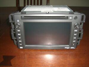 13-14 GM Chevy Silverado Tahoe AM/FM CD DVD Navigation Radio Unit Player opt UYS
