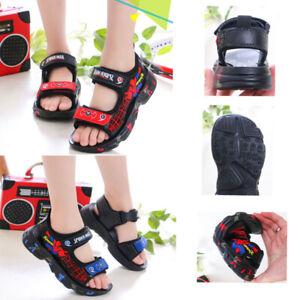Kids Boys Sandals Non-Slip Holiday Beach Shoes Comfort Summer Sanals Size