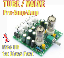 VALVE Tube Pre-Amplifier Stereo Amplifier Headphone Pre-Amp Audio 6J1/2 KIT