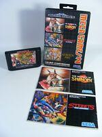 MEGA GAMES 2 für Sega Mega Drive - Spiel Modul OVP Anleitung streets of rage
