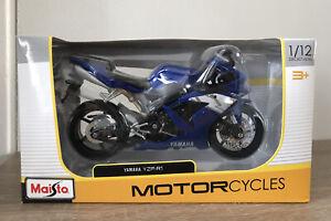 YAMAHA YZF-R1 MOTORCYCLE BRAND NEW 1:12 SCALE REPLICA TOY BIKE MODEL BY MAISTO