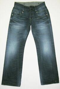 "G-Star RAW 3301 RADAR STRAIGHT Mens Jeans Size Size 30 (Waist 16"") 32L"