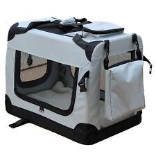 Transportín Perro para reisebox Auto GATOS Caja L Gris
