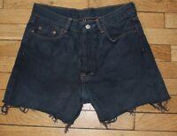 LEVIS 501 Short en Jeans Femme W 32  Taille Fr 42 (Réf # V-149)