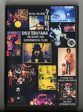 SHUJI TERAYAMA Short Experimental Films (1964-79) 2 disc Set w/English subtitles