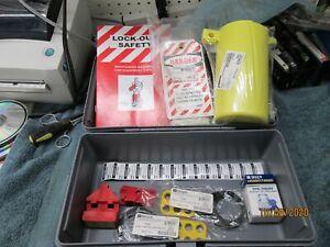 LockOut TagOut Kit Lot Supplies Prinzing  Brady