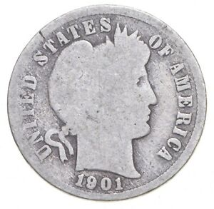 Better - 1901-S Barber Dime *134