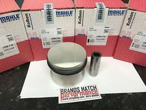 4 x FORD 2.0 OHC PINTO MAHLE PISTONS STD - High Compression 0142100