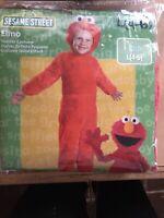 Disguise Inc - Elmo Plush Deluxe Child Costume L (4-6) One Color