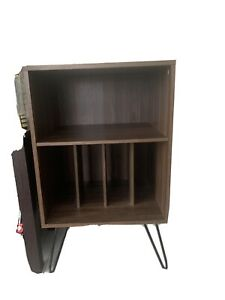 vinyl record player stand