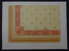 MULIER / Planche 26 / PLAFOND POUR VESTIBULE Eglantine / Art Nouveau Jugendstil