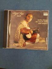 Wajahat Khan & Amino Chatterjee 2000 M- CD Indian Raags For Sarod Tabla Tanpura