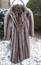 Vintage Silver Tip Raccoon Coat Size about 10