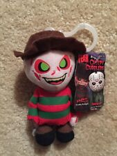 "CINEMA OF FEAR ""FREDDY KRUEGER"" CREEPY CUDDLERS 4"" PLUSH MEZCO NIGHTMARE ELM ST."