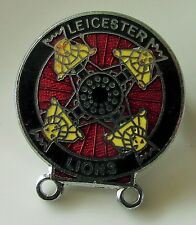 LEICESTER LIONS SPEEDWAY VINTAGE ENAMEL PIN BADGE FROM THE 1970's OLD ETRO