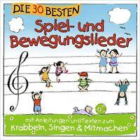 DIE 30 BESTEN SPIEL- UND BEWEGUNGSLIEDER CD NEW