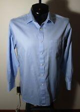 Men's MICHAEL KORS Blue Long Sleeve Dress Shirt Size 16/32-33